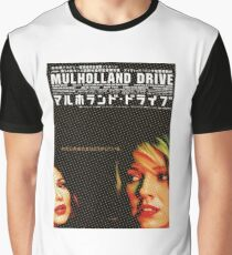 Japanese Mulholland Drive  Graphic T-Shirt
