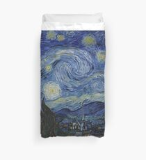 Starry Night Rick and morty Duvet Cover