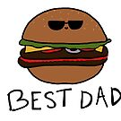 Best Dad Burger by avillustrations