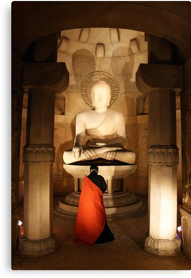Salutation to the buddha by zaclee