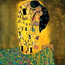 Curly Klimt by tallncurly