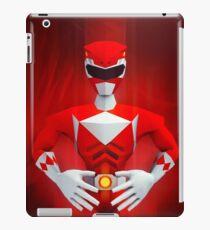 Red Ranger iPad Case/Skin