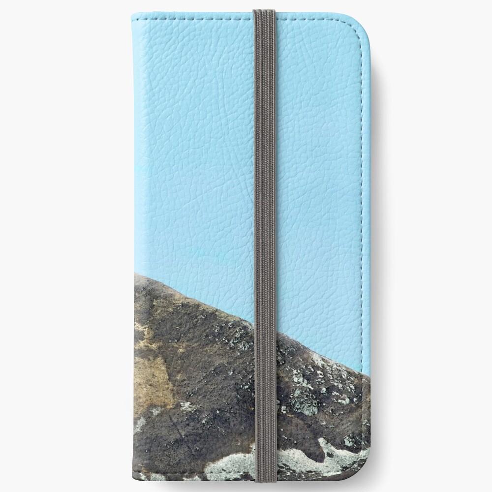 Mountain speaks no  words iPhone Wallet