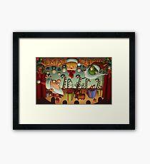 Xmas Circus Framed Print