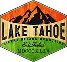 LAKE TAHOE CALIFORNIA SIERRA NEVADA SKIING MOUNTAINS BOATING HIKING CLIMBING SKI 3 by MyHandmadeSigns