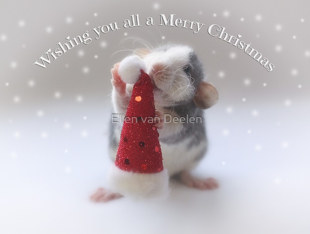 Wishing you a Merry Christmas! by Ellen van Deelen