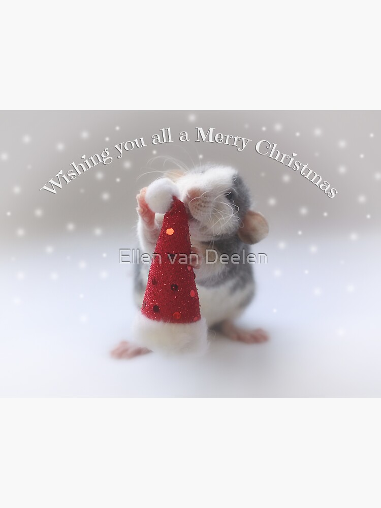 Wishing you a Merry Christmas! by Ellen