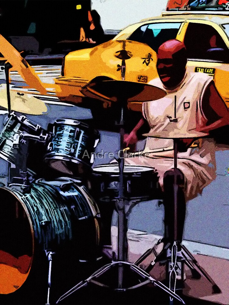 Cool Drummer NY by Andre Clarke