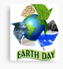 Earth Day 1 Canvas Print