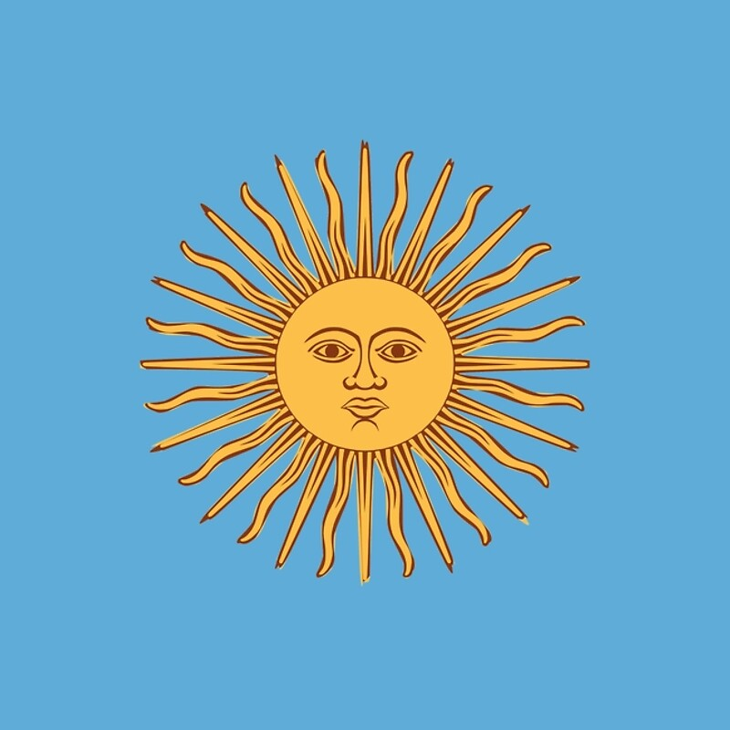 Sol Bandera Argentina Png