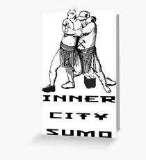 Inner City Sumo! Greeting Card