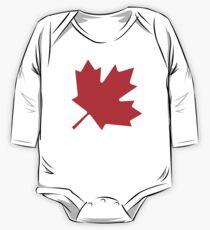 CANADA, CANADIAN, Canadian Flag, Canada Flag, 45 degree, Pure & Simple, National Flag of Canada, 'A Mari Usque Ad Mare' Kids Clothes