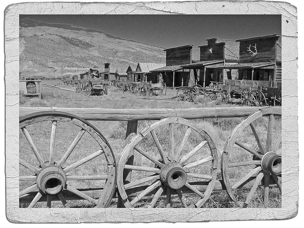Wild West in B&W by avocet