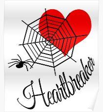 Heartbreaker White Poster