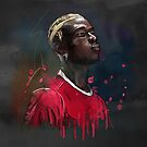 Classic Pogba by Mark White