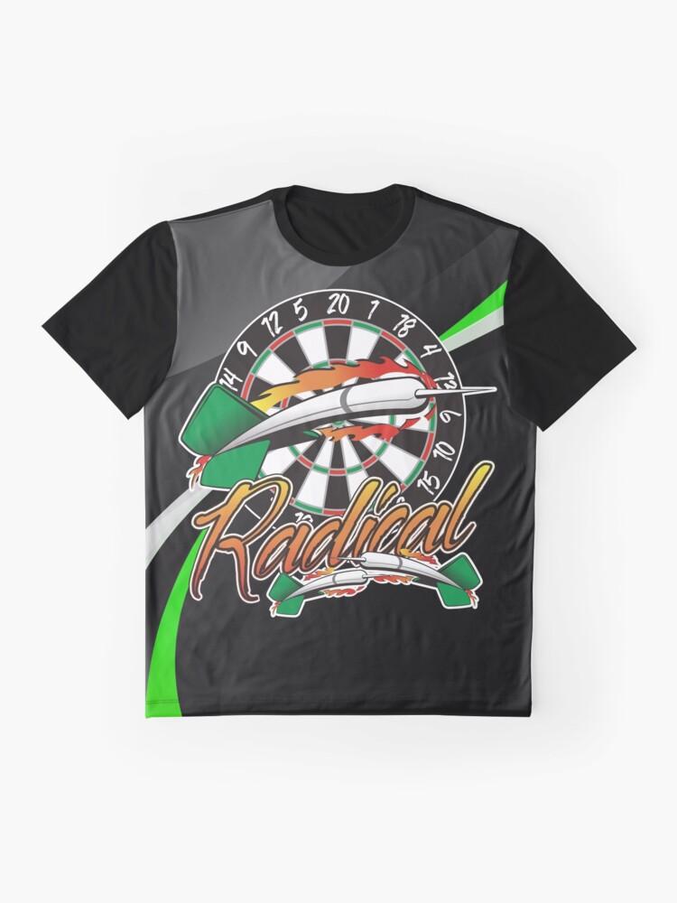 Alternate view of Radical Darts Shirt Graphic T-Shirt