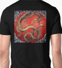 Hokusai, DRAGON, Katsushika Hokusai, Japan, Japanese, Wood block, print T-Shirt
