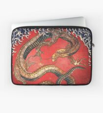 Hokusai, DRAGON, Katsushika Hokusai, Japan, Japanese, Wood block, print Laptop Sleeve