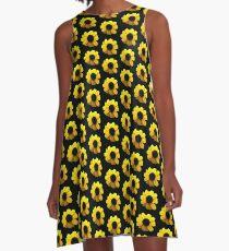 Black-Eyed Susan A-Line Dress