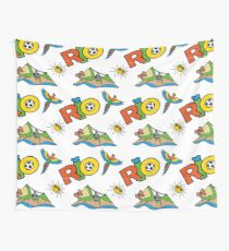 Rio doodle seamless pattern Wall Tapestry