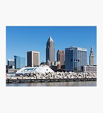 Cleveland Ohio Downtown Photographic Print