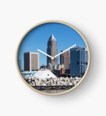 Cleveland Ohio Downtown Clock
