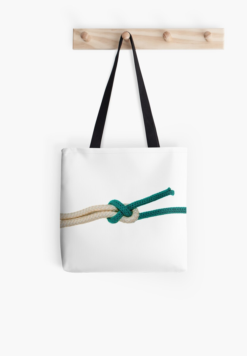 The Sheet Bend knot on white background  by PhotoStock-Isra