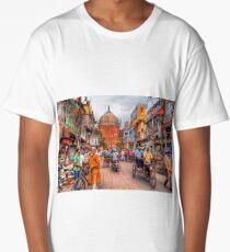 ' Frozen in Time ' Long T-Shirt