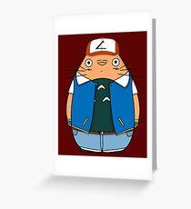 Totoro Ketchum Greeting Card