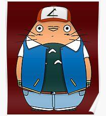 Totoro Ketchum Poster