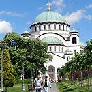 Temple of Saint Sava in Belgrade by Ana Belaj