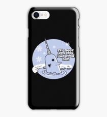 Mr Narwhal  iPhone Case/Skin