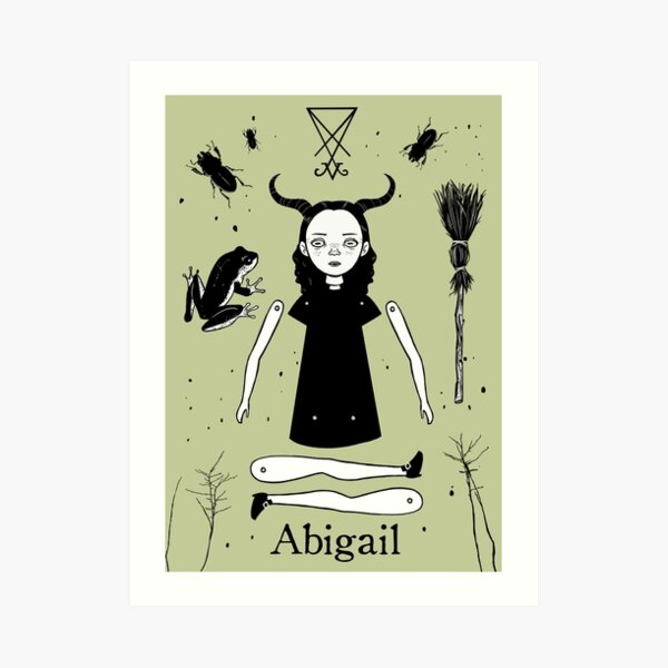 The Afflicted - Abigail Art Print