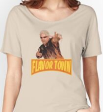 FLAVOR TOWN USA - GUY FlERl Women's Relaxed Fit T-Shirt