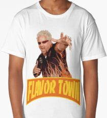 FLAVOR TOWN USA - GUY FlERl Long T-Shirt