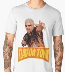 FLAVOR TOWN USA - GUY FlERl Men's Premium T-Shirt