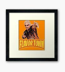 FLAVOR TOWN USA - GUY FlERl Framed Print