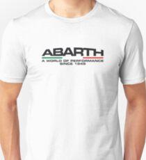 Abarth, a world of performance (black) T-Shirt