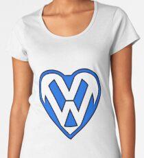 Heart of V dub Women's Premium T-Shirt