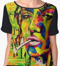 Living in Color Chiffon Top