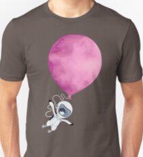Penguin fly Pink Balloon Unisex T-Shirt