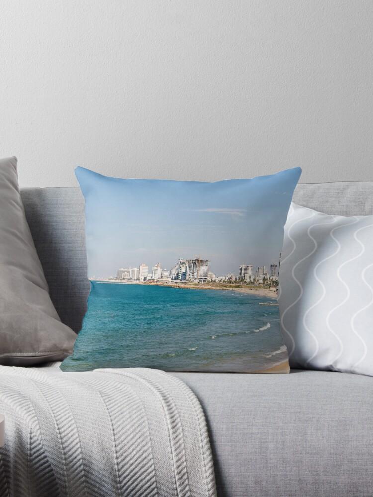Israel, Tel Aviv coastline as seen from south from Old Jaffa by PhotoStock-Isra