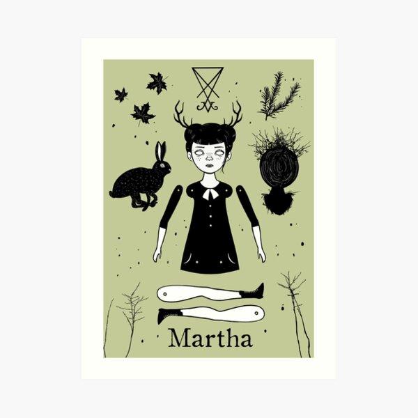 The Afflicted - Martha  Art Print