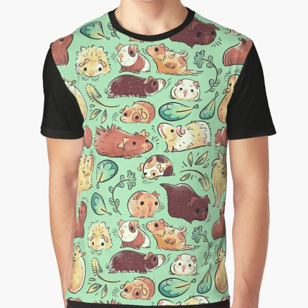 Guinea Pig Huddle Graphic T-Shirt