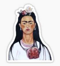 frida kahlo cartoon ~ Sticker