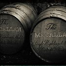 MacAllan Casks - Monochrome by Yannik Hay