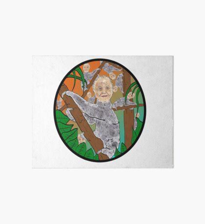 Planet Sir Sloth  Art Board