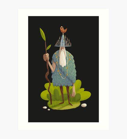 Woodsman Art Print