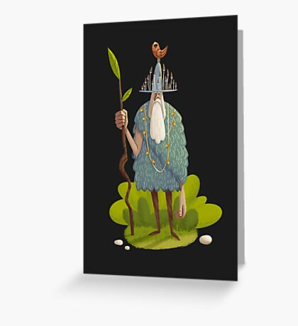 Woodsman Greeting Card