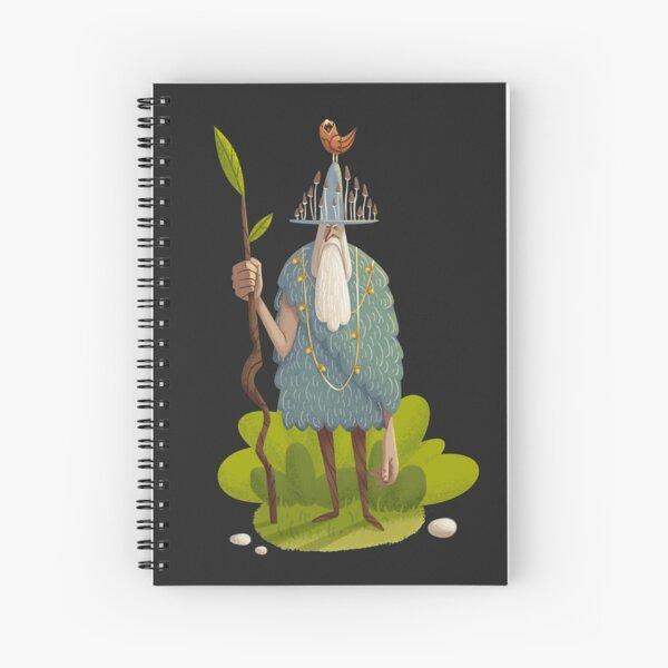 Woodsman Spiral Notebook